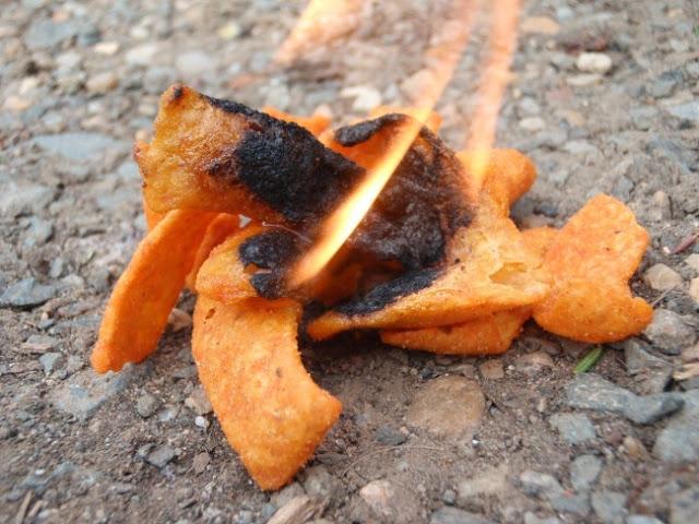 πατατάκια. Καίγονται καλύτερα από οποιοδήποτε άλλο