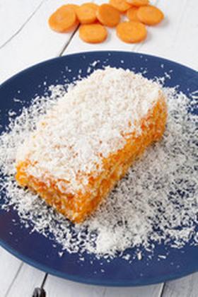 Torta de zanahorias cruda