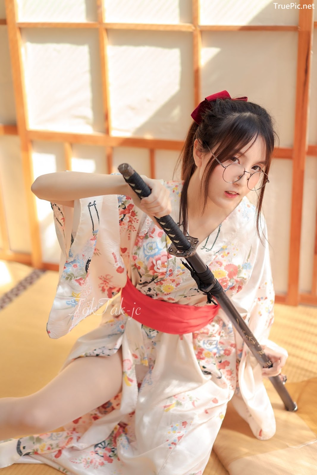 Image Thailand Model - Phunnita Intarapimai - Sexy Kendo Girl - TruePic.net - Picture-8