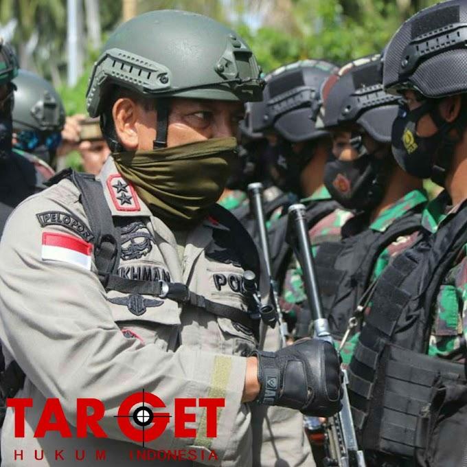 TIGA HARI KAPOLDA SULTENG PIMPIN PENGEJARAN TERORIS POSO, 2 TERORIS DAPAT DITEMBAK MATI