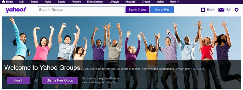 Yahoo is killing Yahoo Groups by December 14