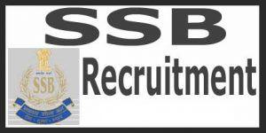 SSB Fresh Recruitment 2019 for 150 Posts|SSB Notification SSB Constable