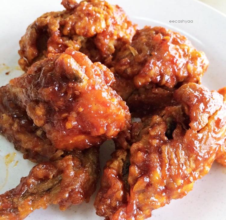 ayam goreng korea, yangneom tongdak