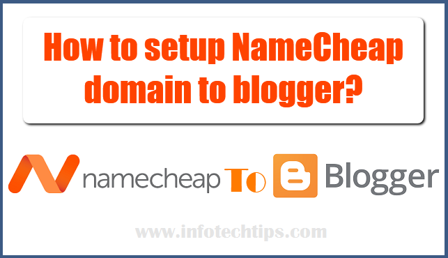 namecheap domain to blogger