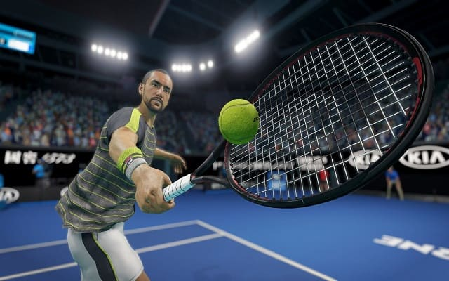 تحميل لعبة AO Tennis 2 مجانا للكمبيوتر