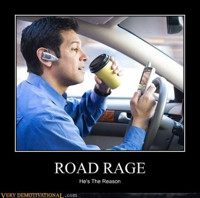 Rages Sayings Pictures And How: Road Rage « Just For Laugh