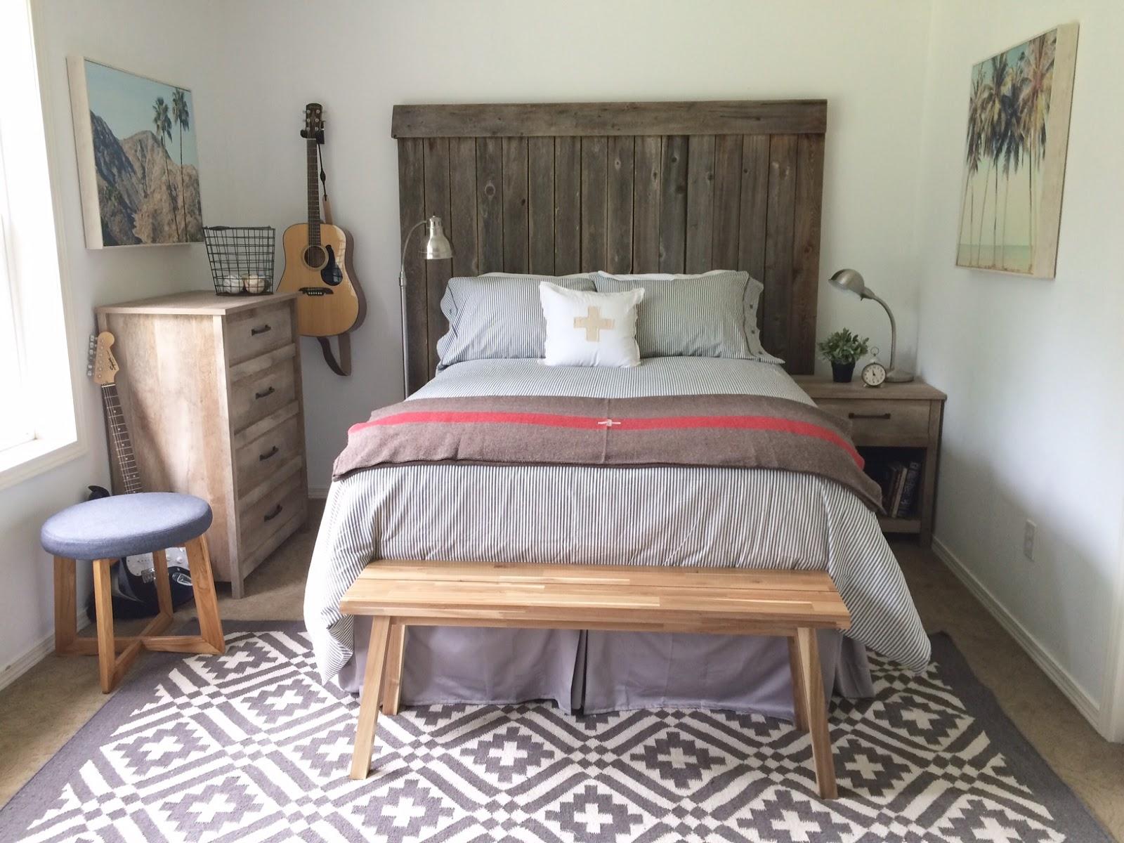 Little Farmstead: Tween / Teen Boy's Bedroom Makeover ...