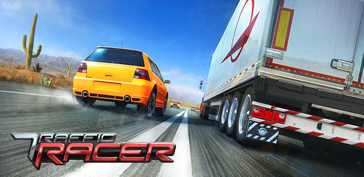 تحميل لعبة traffic racer مهكره 2017