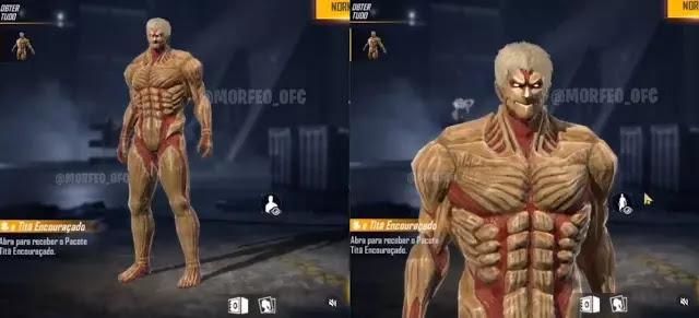 Armored Titan Free Fire