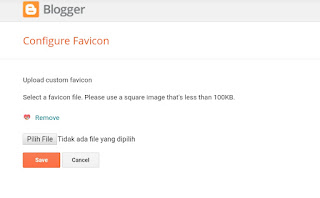 cara memasang favicon di blog