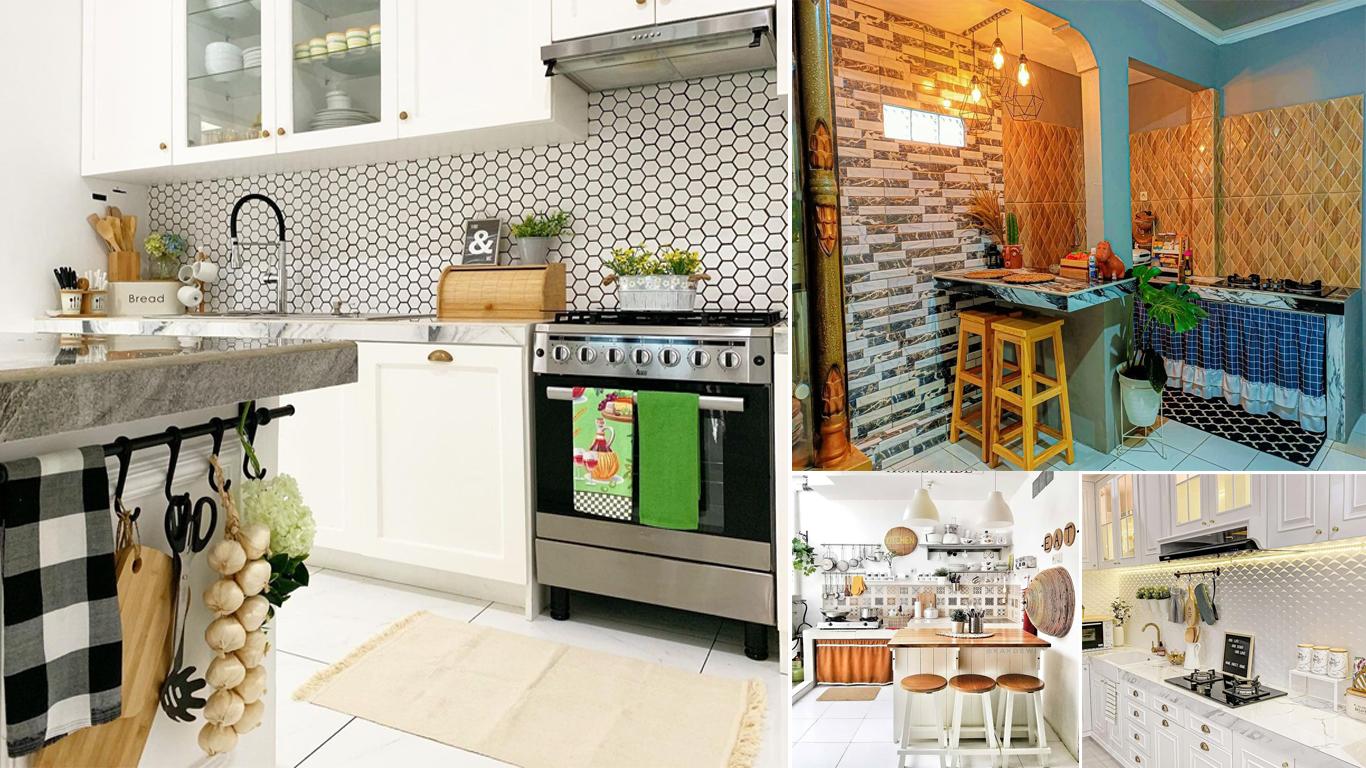 6 Ide Motif Keramik Dinding Dapur Minimalis Yang Bagus Homeshabby Com Design Home Plans Home Decorating And Interior Design Warna keramik dinding dapur rumah