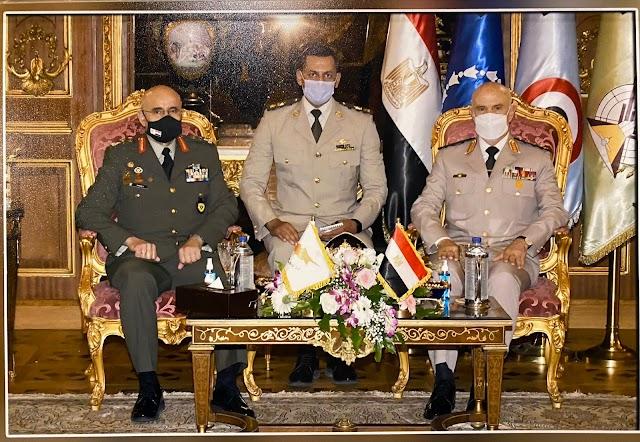Επίσημη Επίσκεψη Α/ΓΕΕΦ στην Αίγυπτο και συνάντηση με τον Αρχηγό ΕΔ (ΦΩΤΟ)