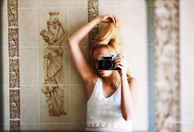 selfie w lustrze