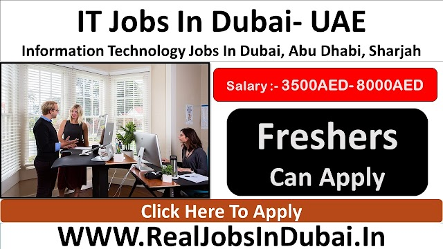 IT Jobs In Dubai, Abu Dhabi & Sharjah - 2020