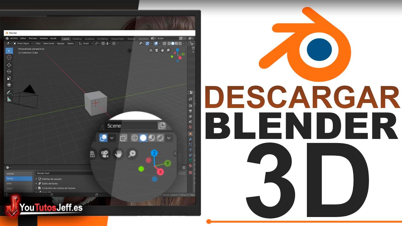 Como Descargar Blender Ultima Versión FULL ESPAÑOL