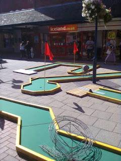 Minigolf in Letchworth Garden City