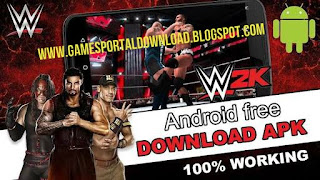 Free Download WWE 2K Apk + Data Obb For Android