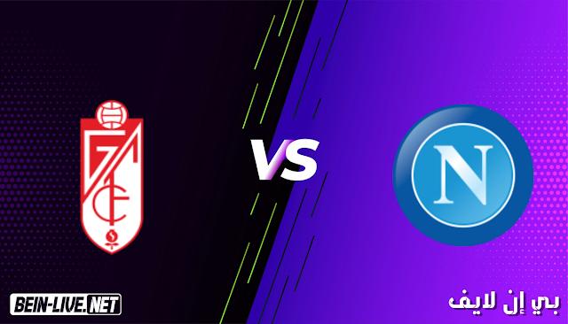 مشاهدة مباراة غرناطة ونابولي بث مباشر اليوم بتاريخ 25-02-2021 في الدوري الاوروبي