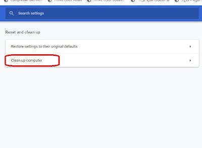 كيف تفحص متصفح Chrome عن طريق أداة مدمجة وكشف البرمجيات الخبيثة