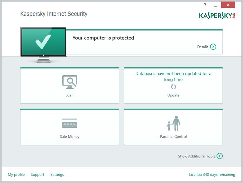 Kaspersky Internet Security 2016 Full โปรแกรมแอนตี้ไวรัสระดับโลก