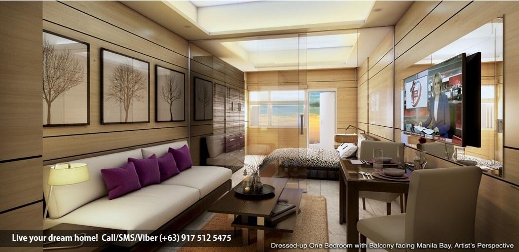 SMDC Coast Residences - 1 Bedroom | Condominium for Sale Roxas Boulevard Pasay