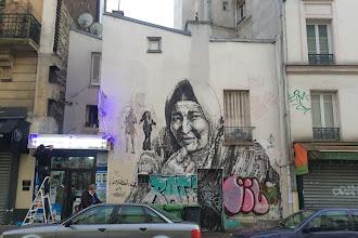 Sunday Street Art : Alaniz - rue Etienne Dolet - Paris 20