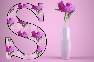 S LETTER flowers image