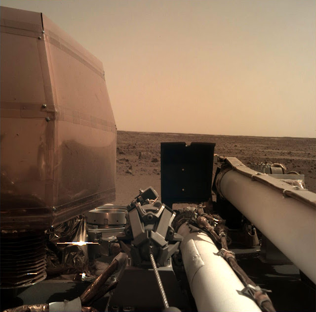 Insight Mars Görüntüsü