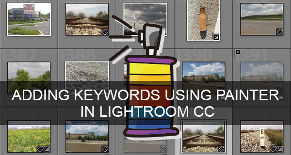 Adding Keywords Using Painter in Lightroom CC