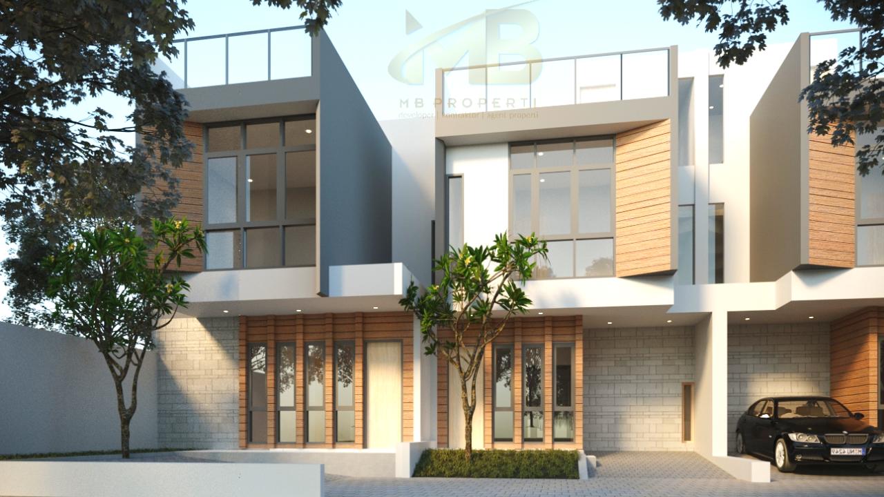 Rumah Dijual Dalam Cluster Di Cirendeu Ciputat Timur,Tangerang Selatan Rp 1,5 Mily