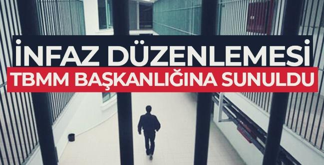 Türkiye Büyük Millet Meclisi'ne sunulan infaz paketinin kabul edilmesi halinde yapılacak düzenlemeler!