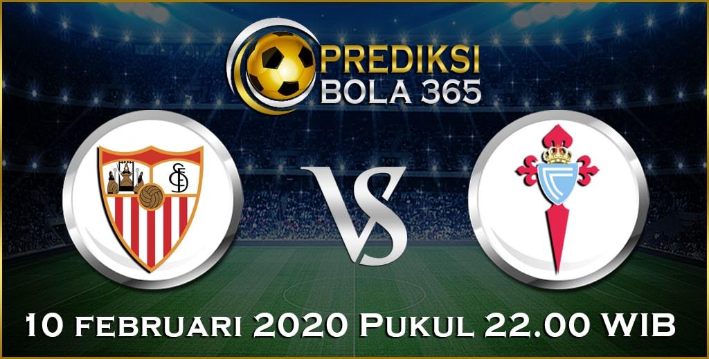 Prediksi Skor Bola Celta Vigo vs Sevilla 10 February 2020