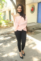 Rakul Preet Singh in lovely Pink Crop Top and Black Trousers at Jaya Janaki Nayaka success meet 006.JPG