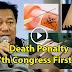 Death Penalty Reinstatement, First Bill Of Duterte Admin's Congress. Read This!