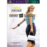 """Never on Sunday""  Classic Greek film starring Melina Mercuri"