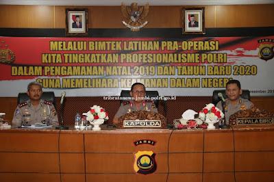 Kapolda Jambi Buka Latpra Ops Lilin Siginjai Tahun 2019