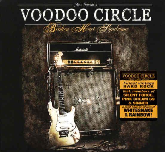 VOODOO CIRCLE - Broken Heart Syndrome [Ltd Digipak +1] front