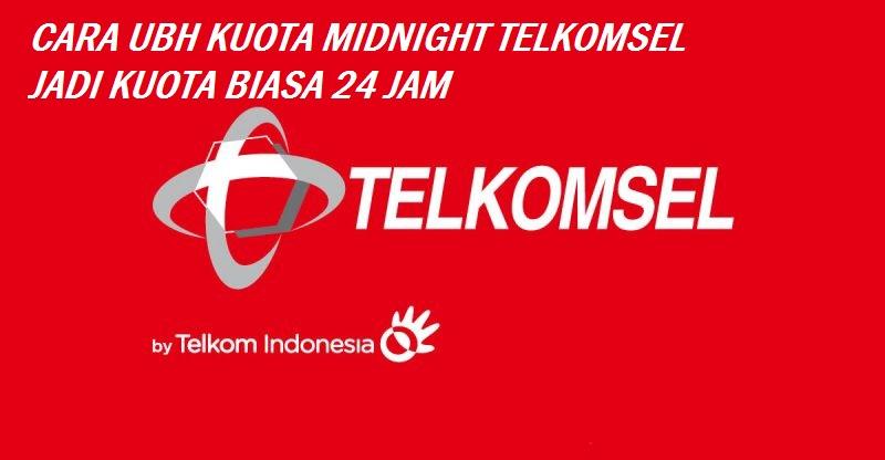 Trik Mengubah Kuota Midnight (Malam) menjadi kuota biasa 24 Jam!