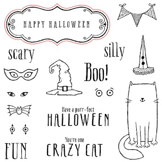 Purr-fect Halloween Stamp Set With A Cute Cat