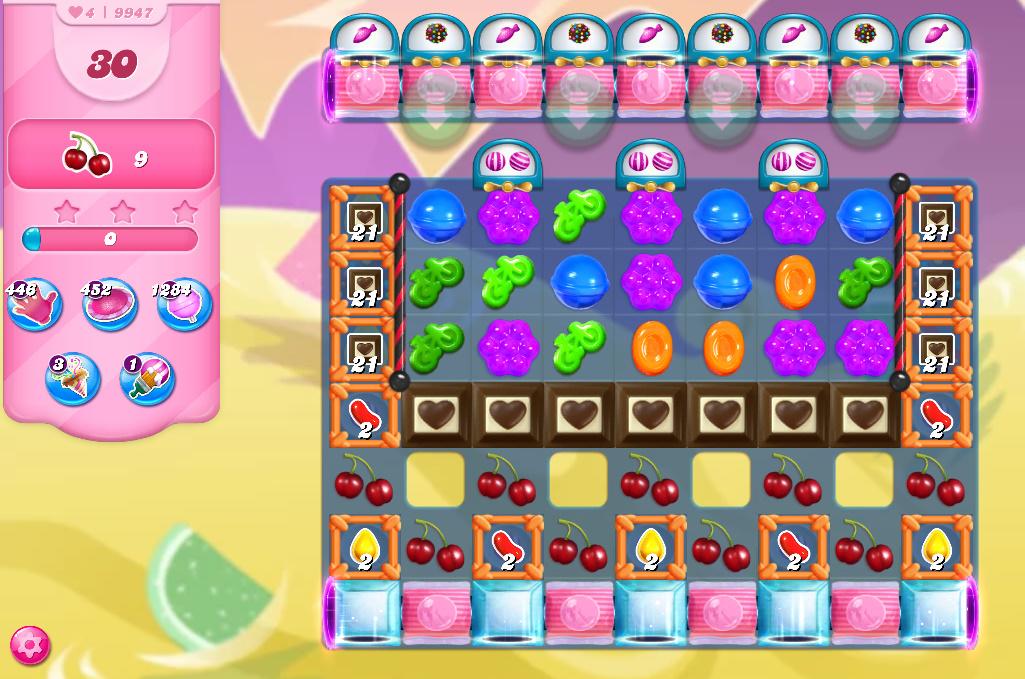 Candy Crush Saga level 9947