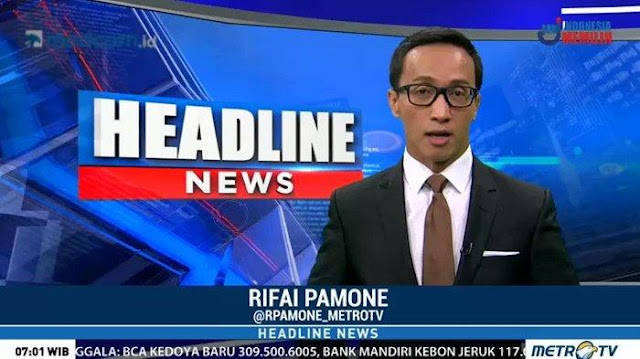Jurnalis Metro TV Rifai Pamone Meninggal Dunia