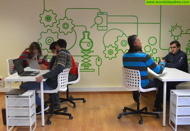 El espacio de trabajo colaborativo del Cabildo y la EOI acoge una charla sobre cómo convertir las ideas en negocios