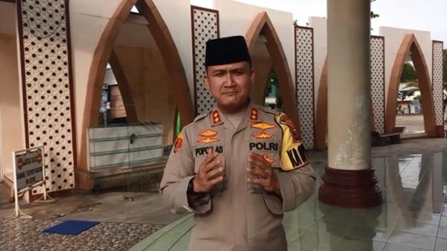 Kapolres Lampung Tengah Partisipasi Dalam Memperingati Hari Santri