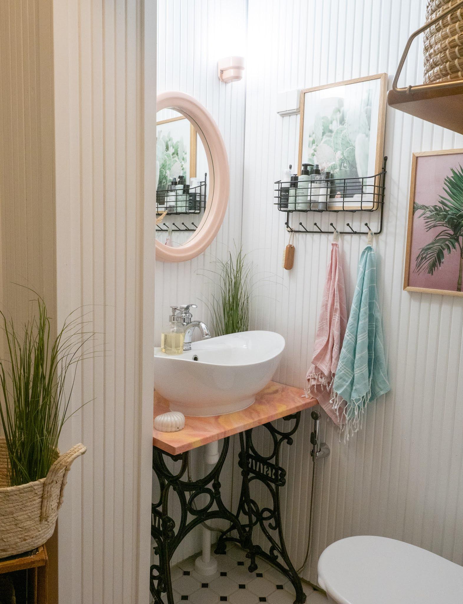 persoonallinen kylpyhuoneen taso
