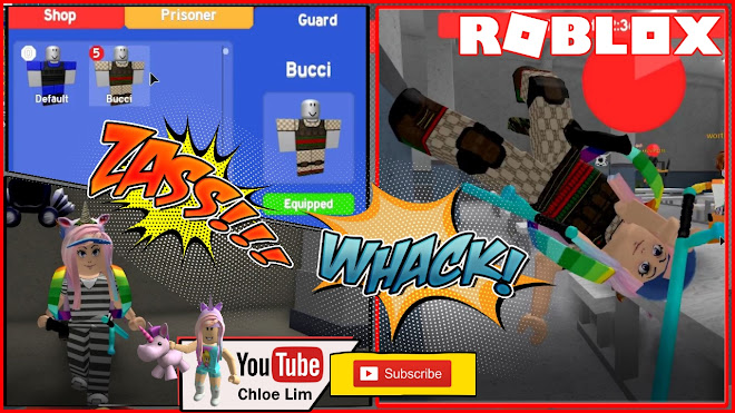 Roblox Prison Tag Gameplay! I m a Bucci Guard!
