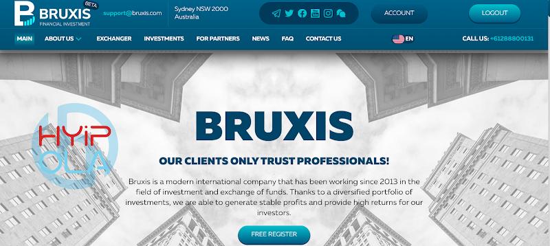 [SCAM] Review Bruxis - Dự án đầu tư khá tốt với lợi nhuận up 30% hằng tháng