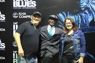 Grande público e shows com estrelas nacionais e internacionais marcaram o 14º Ilha Blues