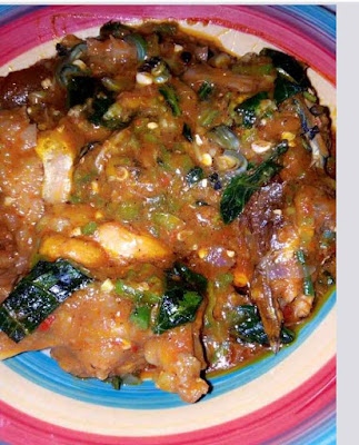 How to make okra (Okro) soup by frying and without frying