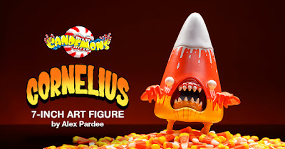 Kidrobot Exclusive Candemons Cornelius Melty Metallic Edition Vinyl Figure by Alex Pardee x 3DRetro