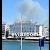 Οι καπνοί σκέπασαν την παραλία Χαλκίδας από τη φωτιά στο Βαθροβούνι (ΒΙΝΤΕΟ)